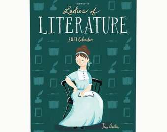 2017 Ladies of Literature Calendar