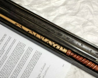 Orchardworks hand carved wands and more by orchardworks on for Harry potter ivy wand