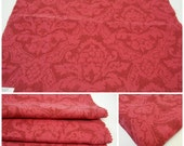 Reserved -   3 pcs of Laura Ashley - Spencer Damask-Cherry- pc- 24inchx24inch