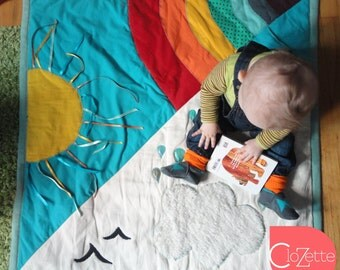 Comfy Baby play mat, The rainbow