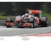 Jenson Button F1 McLaren 2010 High Resolution Digital Download