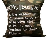 """18""""X18"""" Definition of a Boy 