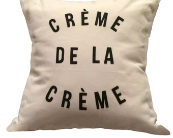 "18""X18"" Creme de la Creme 
