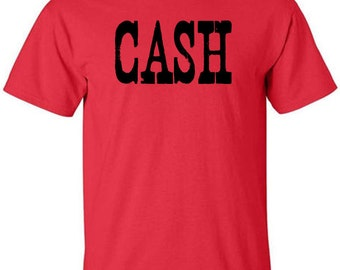 Johnny Cash T-Shirt The Man in Black Country Music Nashville Clothing Ring of Fire Folsom Prison Blues A Boy Named Sue
