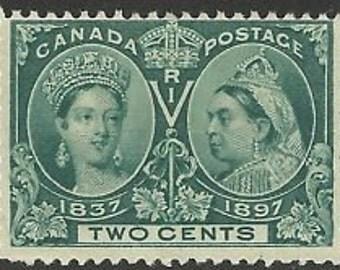 Canada stamp 1897 Queen Victoria Jubilee Mint Sc#52