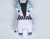 Wolf Rattle Soft Toy