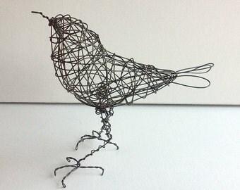 Original Handmade Wire Bird Sculpture - MYEISHA