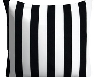 decorative pillows black white pillows striped pillow black stripe pillow neutral pillow