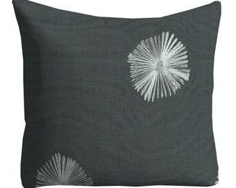 designer pillows, nate berkus pillows, pillow cover, pillows, decorative pillows, lumbars, home decor, grey black decor, silver pillows
