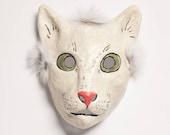 masquerade cat paper mask