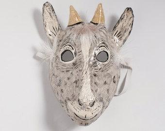 kid goat paper mask