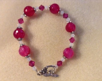 Magenta Bracelet