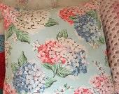 Cath kidston Hydranger fabric cushion/pillow cover decorative cushion cover in cath kidston  fabric