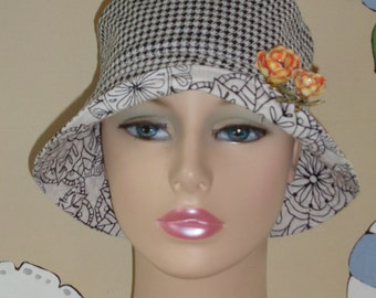 Chemo Cap Womens Cancer Hat Hair Loss Hat (For Size guide, see 'Item Details' below photos) SMALL