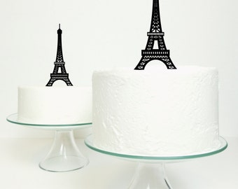 Eiffel Tower Cake Topper