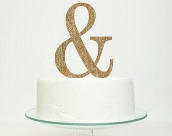 Ampersand Wedding Cake Topper