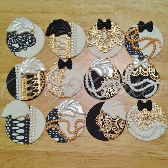 Gatsby Cake Decorations