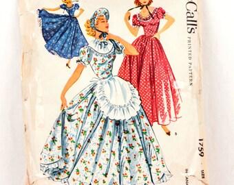 1950s McCall's 1759 // Centennial Costume
