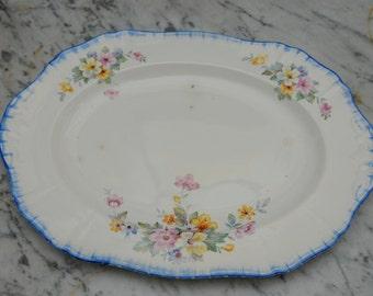 Alfred Meakin Floral Serving Platter