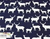 Elk Fam Dusk From Birch Organic Fabric's Mod Basics 2 Collection