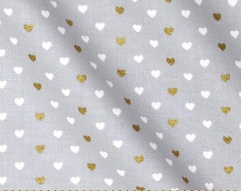 Cloud Grey Metallic Heart Sprinkles from Michael Michael's Wee Sparkle Collection