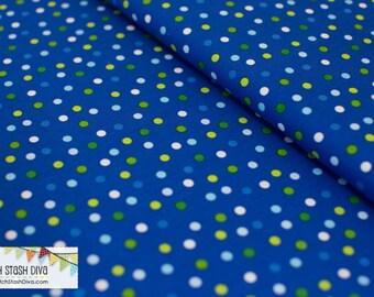 Royal Blue Remix Dots From Robert Kaufman