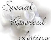 Second Installment for Bridal Bouquet Package for Devon C.