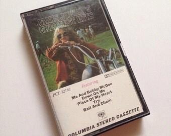 Vintage Cassette - Janis Joplin's Greatest Hits