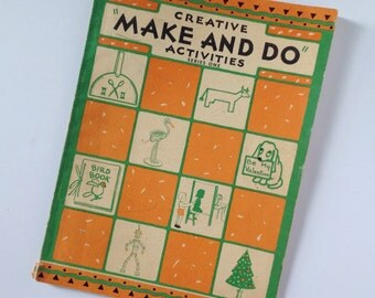 "50s Activity Book - Children's ""Make and Do"" Activity Book"