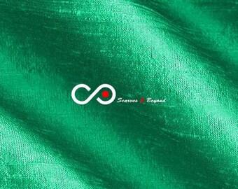 Silk Dupioni Fabric - Jade D211 - Section Green - 1 yard 100% Silk Dupion