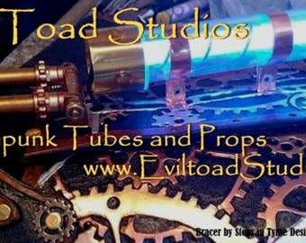 NEW 9V  Light Up Core SteampunkTube Tesla Tube