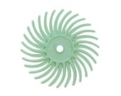 3M Radial Disc 3/4 Inch 50 grit - Green - Heavy cleaning and fire scale removal - Polishing Finishing Tool - Jewelry Making Tool