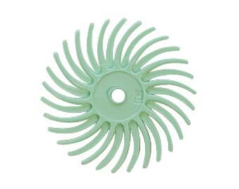 3M Radial Disc 3/4 Inch 1 Micron - Light Green - Polishing - Polishing Finishing Tool - Jewelry Making Tool