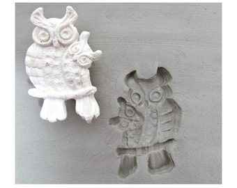 clay stamps -pottery tools -metalstamps -soapstamps -bisque stamps -ceramic stamps - owl stamp -  (243 )