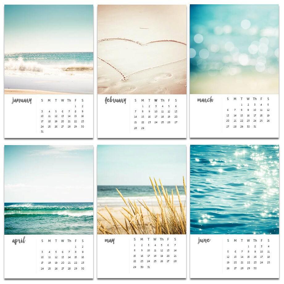 small desk calendars 2017