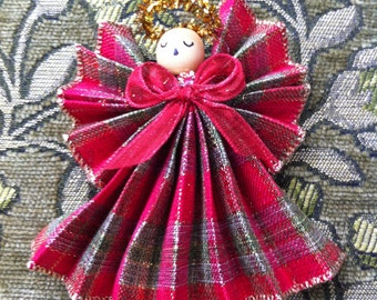 Handmade Angel, Angel Ornament, Friend Gift