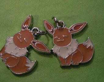 Eevee, Anime Earrings, Eevee Earrings, Pokemon Earrings, Anime Jewelry