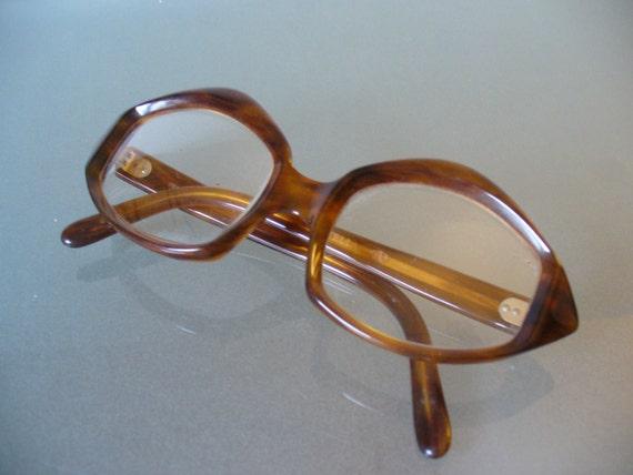 Glasses Frame Made In France : Made in France Sculpted Frame Glasses