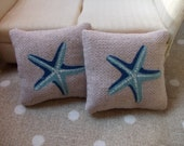 set of cushions, starfish, 1.6 scale