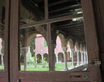 Venice Photograph, Church Photo, Travel Picture, Large Wall Art, Fine Art Photograph, Reflection Picture, Architectural Detail, Pink Decor