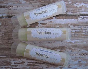 Bourbon Lip Balm, Lip Butter