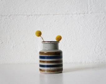Stoneware Crock Vase, Single
