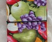 Fabric Fauxdori Traveler's Notebook - Fruit - Field Note Size - ON SALE