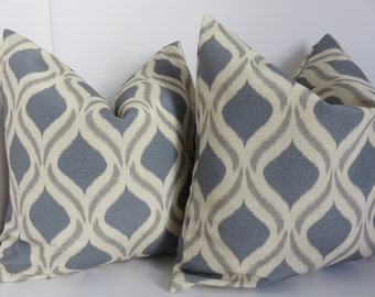 SALE !!! Gray Pillow Cover, Beige gray pillow cover, Beige Pillow Cover, 18x18 Pillow Cover, Gray Trellis Pillow, Pillow Cover