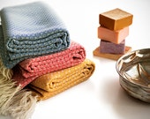 NEW Anatolian Turkish Towel, Peshtemal Towel, Fouta / Autumn / Blue, Pink, Yellow, ice green, light blue, lavender, green, purple