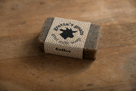 Direct Trade Organic Goat Milk Coffee Soap from Hand Milked Goats that Graze on Organically Managed Pasture