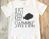 Toddler Boys, Just Keep Swimming, Finding Dory, Finding Nemo, Toddler Life, Navy and White