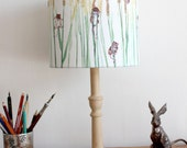 Field Mice in the Wheat Lampshade