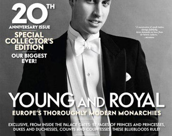 September 2003  - 20th Anniversary Issue - Vanity Fair - Prince William - New (in plastic)