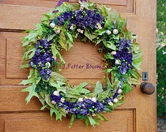 SaLe-Winter, Grapevine, Spring Wreath, Door Decor, Purple Wreath, Front Door Decor, All Season Wreath, Birthday, Outdoor Wreaths, Lime Green